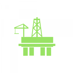 IT Support green offshore rig