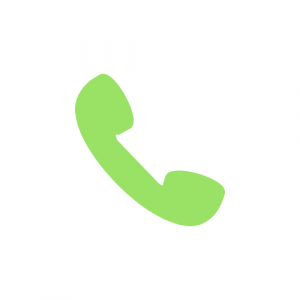 Green Telephone icon representing connectivity