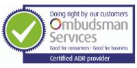 Certified ADR Provider Ombudsman Services logo
